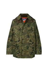 Chaqueta militar de camuflaje verde oscuro de Junya Watanabe MAN