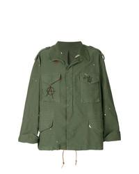 Chaqueta militar verde oliva de 424