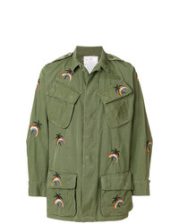 Chaqueta militar verde oliva de As65
