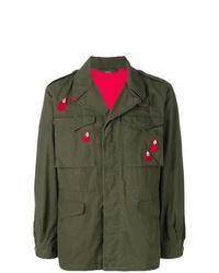 Chaqueta militar verde oliva de Gucci