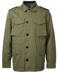 Chaqueta Militar Verde Oliva de Kent & Curwen