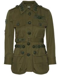 Chaqueta Militar Verde Oliva de Marc Jacobs