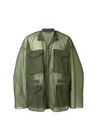 Chaqueta militar verde oliva de Oamc