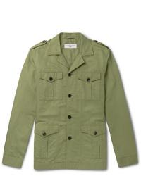 Chaqueta militar verde oliva de Orlebar Brown