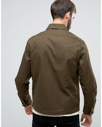 Chaqueta Militar Verde Oliva de Paul Smith
