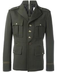 Chaqueta Militar Verde Oscuro de Maison Margiela