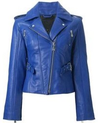 Resultado de imagen para chaquetas de cuero azules