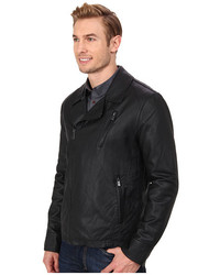 Chaqueta cuero kenneth cole