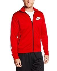Chaqueta roja de Nike