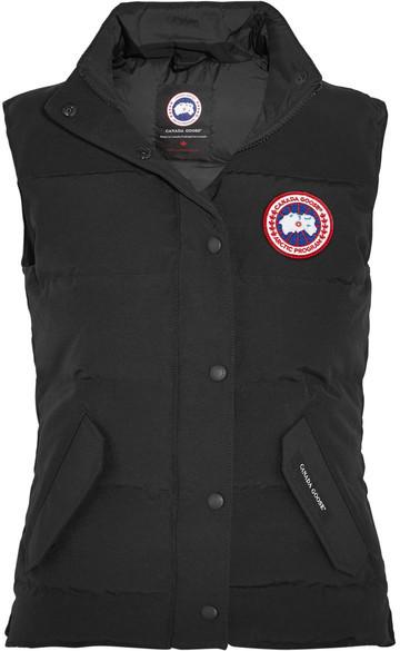 chaqueta negra canadágose