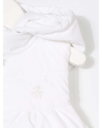 Chaqueta sin mangas blanca