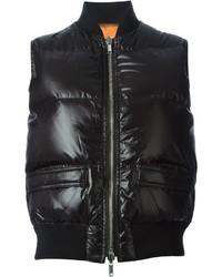 Chaqueta sin mangas negra de Givenchy