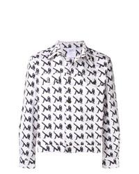 Chaqueta vaquera estampada blanca de Calvin Klein Jeans Est. 1978