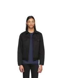 Chaqueta vaquera negra de Naked and Famous Denim