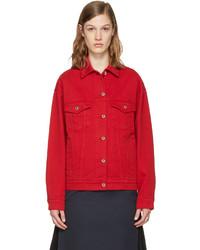 c923c617cbf1b Comprar una chaqueta vaquera roja de SSENSE  elegir chaquetas ...