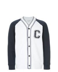 Chaqueta varsity en azul marino y blanco de CK Calvin Klein