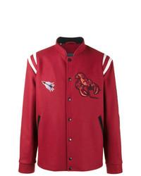 Chaqueta Varsity Roja de Lanvin