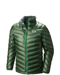 Chaqueta verde de Mountain Hardwear