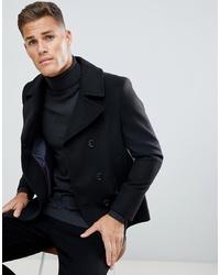 Chaquetón negro de Burton Menswear