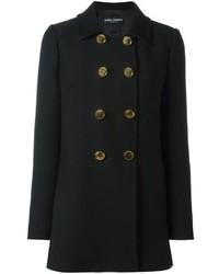Chaquetón Negro de Dolce & Gabbana