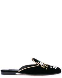 Chinelas negras de Dolce & Gabbana