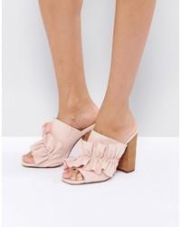 Chinelas rosadas de Asos