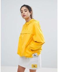 Chubasquero amarillo de Calvin Klein Jeans