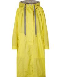 Chubasquero amarillo de Marc Jacobs