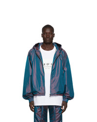 Chubasquero azul marino de Fear Of God