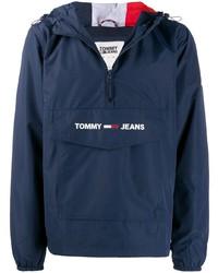 Chubasquero azul marino de Tommy Jeans