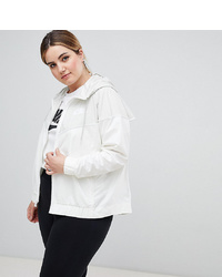 Chubasquero blanco de Nike