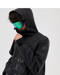 Chubasquero de camuflaje negro de Surfanic