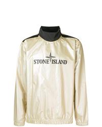 Chubasquero dorado de Stone Island