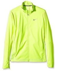 Chubasquero en amarillo verdoso de Nike