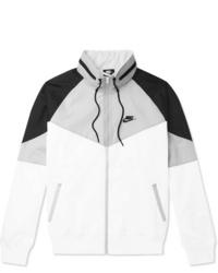 Chubasquero en blanco y negro de Nike