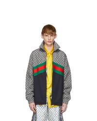 Chubasquero en multicolor de Gucci