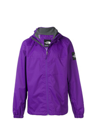 Chubasquero en violeta de The North Face