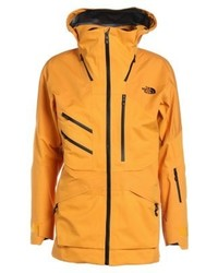 Chubasquero estampado amarillo de The North Face