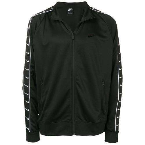 La base de datos darse cuenta Ruina  Chubasquero estampado en negro y blanco de Nike, €75 | farfetch.com |  Lookastic España