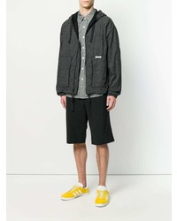Chubasquero negro de Engineered Garments