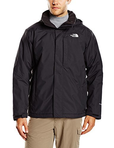 d6c40eff028b0 ... Chubasquero negro de The North Face ...