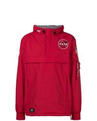 Para Hombres Una Industries Alpha Chaqueta Roja Moda Comprar U6q0YxA6