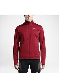 Chubasquero rojo de Nike