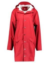Chubasquero rojo de Rains