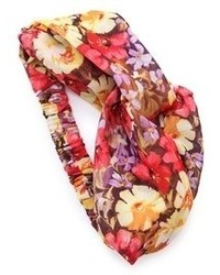 Cinta para la cabeza con print de flores en multicolor de Eugenia Kim