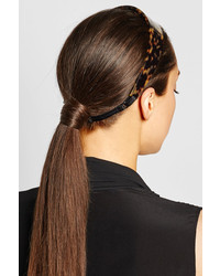 Cinta para la cabeza marrón de Givenchy