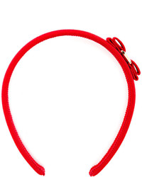 Cinta para la Cabeza Roja de Salvatore Ferragamo