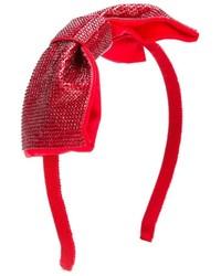 Cinta para la cabeza roja de Simonetta