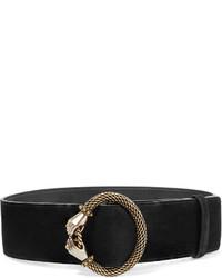 Cinturón con adornos negro de Lanvin