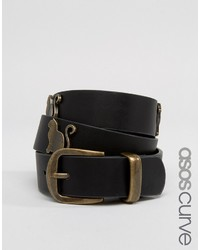 Cinturón con Tachuelas Negro de Asos